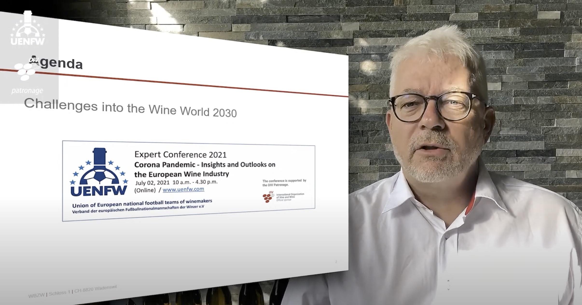 Als Präsident der Schweizer Winzer Fussballnati moderierte Martin Wiederkehr die internationale Fachkonferenz.